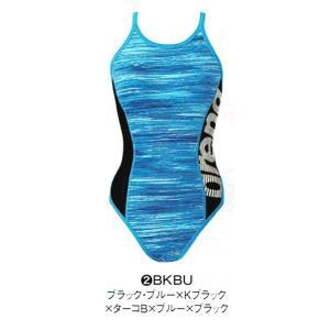 アリーナ 練習水着 SAR8121W BKBU サイズ女L スーパーフライバック タフスーツ 2018年春夏モデル sports-will