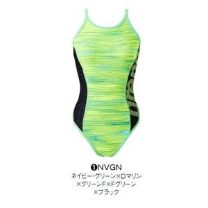 アリーナ 練習水着 SAR8121W NVGN サイズ女M スーパーフライバック タフスーツ 2018年春夏モデル sports-will
