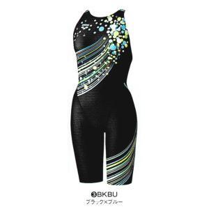 【特別価格・35%OFF】アリーナ 競泳水着 FAR7574W BKBU サイズ女XO セイフリーバックスパッツ(着やストラップ) FINA承認 2017年秋冬モデル sports-will