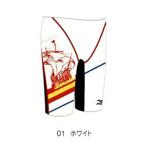 【特別価格・40%OFF】ミズノ 練習水着 85RE31101 サイズ男SS ハーフスパッツ FINA承認|sports-will