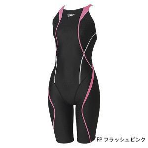 スピード 競泳水着 SD46H03 FP サイズ女O FLEXCubeウイメンズオープンバックニースキン FINA承認 2018年season2モデル|sports-will