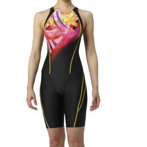 アリーナ 競泳水着 ARN9072W BKPK サイズ女L セイフリーバックスパッツ(着やストラップ) FINA承認 2019年春夏モデル|sports-will