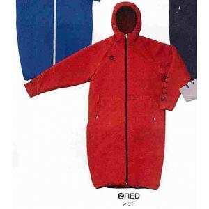 アリーナ コート ARN2306 RED サイズ男性用L 2015年秋冬モデル