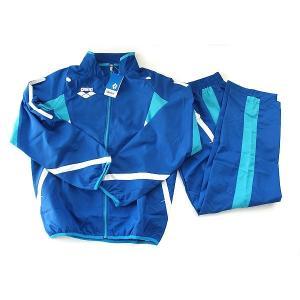 【期間限定・40%OFF】アリーナ ウインドアップジャケット+パンツ ARN2300+ARN2301P BLU サイズ男性用S|sports-will