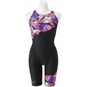 【5/31まで・20%OFF】ミズノ 競泳水着 N2MG025196 サイズ女XL ハーフスーツ(マスターズバック) FINA承認 AYA COLLECTION 2020年春夏モデル|sports-will
