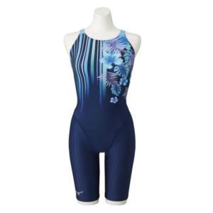 ミズノ 競泳水着 N2MG125182 サイズ女M ハーフスーツ(マスターズバック) FINA承認 TERAKAWA AYA COLLECTION 2021年春夏モデル|sports-will