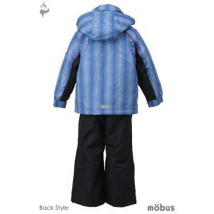 MOBUS(モーブス) MOT-2561 子供用 保温 キッズボーイズ スキーウェア 上下セット セパレート☆BLU|sports|03