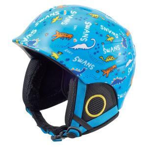 SWANS(スワンズ) H-55 キッズ ジュニア スキー スノー ヘルメット 子供用|sports