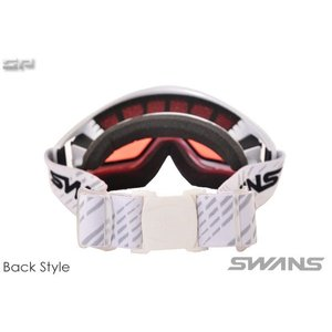 SWANS(スワンズ) HELI-PDH 大人向け 偏光ピンクレンズ スノーゴーグル 透過率33% sports 02