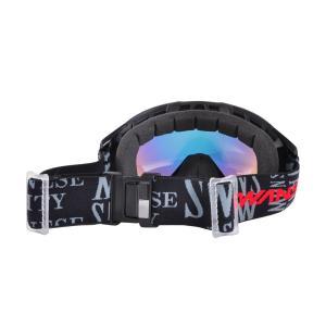 SWANS(スワンズ) 060-MDHS 大人向け フレームレス スノーゴーグル ヘルメット対応 ダブルレンズ|sports|02