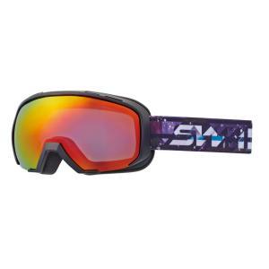SWANS(スワンズ) 080-MDH-S-PAF レッドミラー 球面ダブルレンズ スノーゴーグル スキー スノーボード 透過率30%|sports