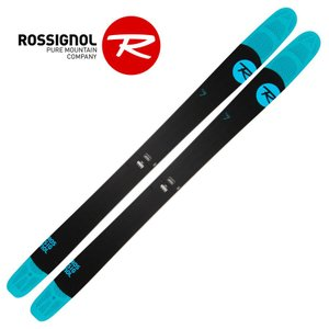 ROSSIGNOL(ロシニョール) RACQH01 SQUAD 7 スクワッドセブン ファットスキー 板のみ 山スキー パウダー|sports