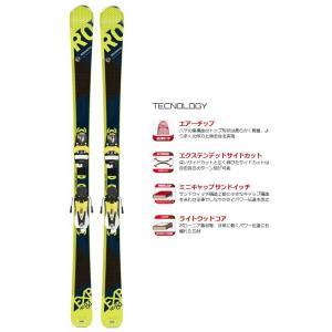 ROSSIGNOL(ロシニョール) RAGEC01/FCGC016 EXPERIENCE 84 HD (KONECT) スキー板 ビンディング付き|sports