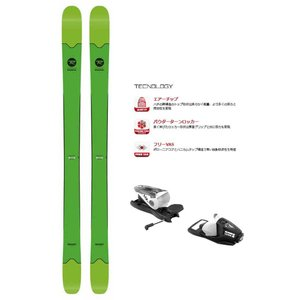 ROSSIGNOL(ロシニョール) RAGQE01/FCFA057-G SMASH 7/NX11  フリーライドスキー板 ビンディングセット|sports