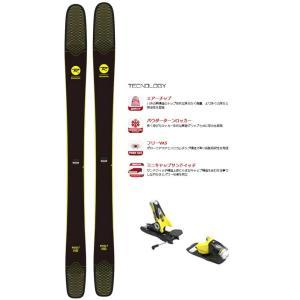 ROSSIGNOL(ロシニョール) RAGQN01/FCFA028-G SOUL 7 HD/DUAL WTR B120  フリーライドスキー板 ビンディングセット|sports