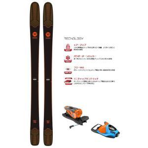 ROSSIGNOL(ロシニョール) RAGQP01/FCGA050 SKY 7 HD/NX11 フリーライドスキー板 ビンディングセット|sports