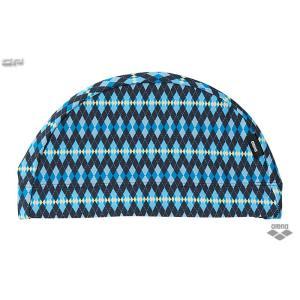 2015 SS ARENA(アリーナ) ARN-5421 テキスタイル キャップ スイムキャップ 大人用 水泳帽|sports