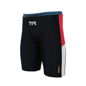 メール便OK TYR(ティア) JCOLRJR-20M ジュニア ボーイズ ロングボクサー 競泳トレーニング水着 練習用 sports