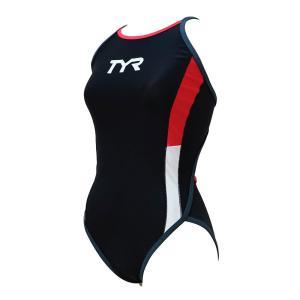 メール便OK TYR(ティア) FCOLRJR-20M ジュニア ガールズ 競泳トレーニング水着 練習用 ハイカット フレックスバック sports