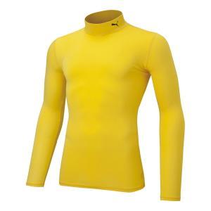 メール便OK PUMA(プーマ) 656331 コンプレッション モックネック LS シャツ メンズ サッカー フットサル インナーシャツ sports