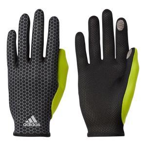 メール便OK adidas(アディダス) DUD93 ランニング アディゼロ 軽量グローブ ジョギング マラソン タッチパネル対応|sports