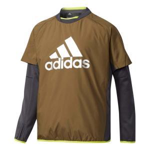 adidas(アディダス) DUV98 ジュニア Boys TRN CLIMIXパデッドプルオーバー トレーニングウェア オリーブ|sports