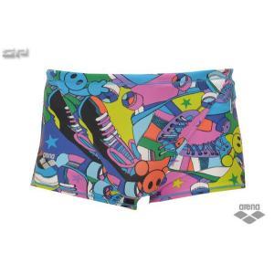 [メール便OK(同梱不可)][超特価40%OFF!2011モデル]ARENA(アリーナ) FSA-1660 メンズショートボックス/競泳トレーニング長持ち水着/耐塩素タフスーツ|sports