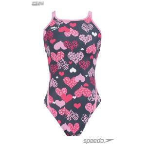 [10%OFF! 2013 S2モデル]SPEEDO(スピード) SD33T57 ジュニア ガールズ トレインカットスーツ/ガールズ競泳トレーニング水着/スイムウェア|sports