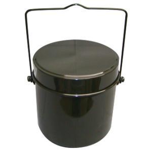 5号炊き。使いやすい丸型ハンゴウ。鍋としても使えます。