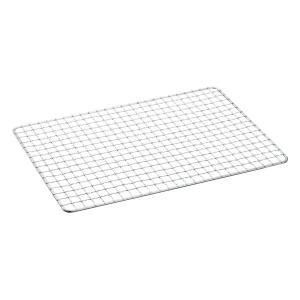 【定番グリルの替え網】・サイズ:約22.5x34.5cm(S)・重量:約200g・材質:スチール