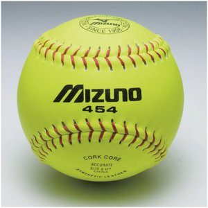 MIZUNO(ミズノ)野球 ソフトボール球 カワイエローソフト ミズノ454 2OS45400 1P イエロー