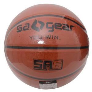 (セール)s.a.gear(エスエーギア)バスケットボール 6号ボール ゴム製バスケットボール6号 SA-Y15-103-033 レディース ブラウン sportsauthority