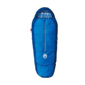 サイズ調整可能な子供用マミー型寝袋・快適温度:4℃以上 ・使用時サイズ:約140?170x65cm ...