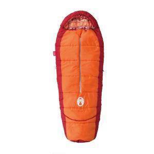 COLEMAN(コールマン)キャンプ用品 スリーピングバッグ 寝袋 ジュニア用 キッズマミーアジャスタブル/C4(オレンジ)2000027271|sportsauthority