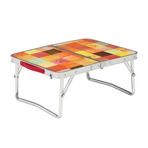 天板に抗菌加工を施したミニテーブル・使用時サイズ:約53x40x23(h)cm ・収納時サイズ: 約...