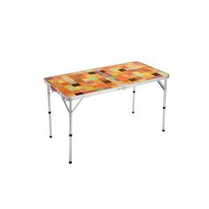 抗菌加工天板の120サイズテーブル・使用時サイズ: 約120x60x40/70(h)cm ・収納時サ...