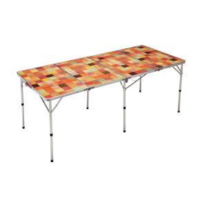 (送料無料)COLEMAN(コールマン)キャンプ用品 ファミリーテーブル ナチュラルモザイクリビングテーブル/180プラス 2000026749|sportsauthority