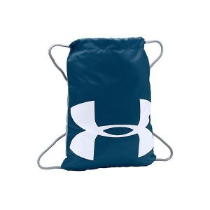(セール)UNDER ARMOUR(アンダーアーマー)スポーツアクセサリー メンズバッグ UA OZSEE SACKPACK 1240539 メンズ ONESIZE BLACKOUT NAVY/STEEL/WHITE|sportsauthority