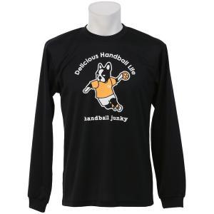その他競技 体育器具 ハンドボール handball junky ハンドボールジャンキー サイドシュート+1 HJ16501-2 ブラック|sportsauthority