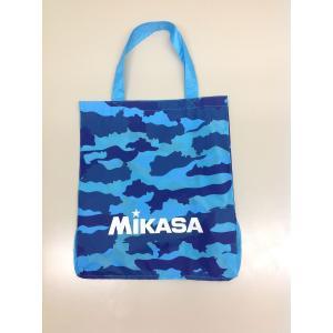 MIKASA(ミカサ)スポーツアクセサリー ナップサック レジャーバックカモ柄サックス BA21SA-SK サックス カモ柄