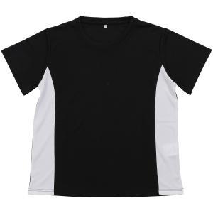 (セール)SPORTS AUTHORITY(スポーツオーソリティ)ジュニアスポーツウェア Tシャツ ジュニア ベーシックTシャツ 5C-Y19-012-008 ジュニア ブラック/ホ...|sportsauthority