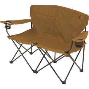 ・座り心地の良い2人用、収束型コンパクト収納、持ち運びに便利な収納ケース付・ドリンクホルダー2個付・...