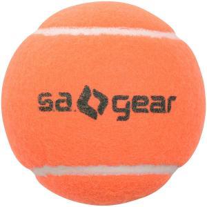 s.a.gear(エスエーギア)ラケットスポーツ テニスボール ノンプレッシャーテニスボール SA-Y19-004-017 オレンジ