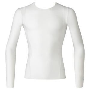 ジュウリュウトップ(メッシュタイプ)ラウンドネック(長袖)サポート部位:肩甲骨、広背筋、腹斜筋本体部...