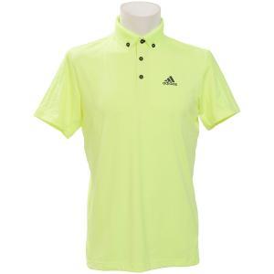 a27e2cdc87c46f セール)adidas(アディダス)ゴルフ 半袖ポロ 半袖ハイネック PF ULTIMATE365 CLIMACOOL S/S B.D.ポロ  FVE33-DW7634 メンズ ハイレスイエロー