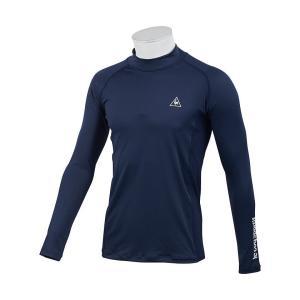 定番のハイネックインナーシャツ。吸汗速乾/UVケア(UPF15)