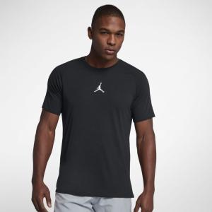 (セール)NIKE(ナイキ)バスケットボール メンズ 半袖Tシャツ ジョーダン 23 ALPHA DRY S/S トップ 889713-013 メンズ ブラック/(ホワイト)|sportsauthority