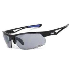FLS 4007-1 FILA-4007-MBK/FMR スポーツアクセサリー サングラス MATTE BLACK/BLUE|スポーツオーソリティ PayPayモール店