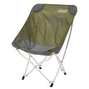 コールマンCOLEMAN ヒーリングチェア (オリーブ) 2000036430 キャンプ用品 ファミリーチェア 椅子 オリーブ セール|スポーツオーソリティ PayPayモール店