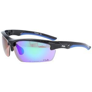 FILA(フィラ) FILA-FLS 4010-BLK FLS 4010-1 スポーツアクセサリー サングラス SHINY BLACK/BLUE/SMOKE/GREEN REVO セール|スポーツオーソリティ PayPayモール店